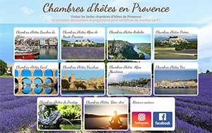 Annuaire des Chambres d'hôtes de Provence