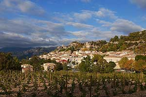 Aiguines village of the  Verdon © VF
