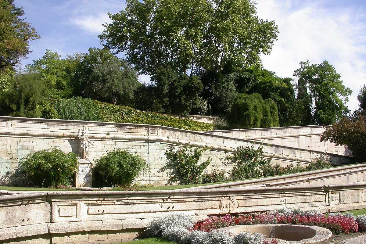 ... Rocher Des Doms Avignon © VF