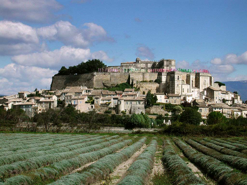 Grignan Is A Village In The Drome Provencale In Tricastin Region A Little Step Away From The Rhone Valley Near Valreas And The Enclave Of Vaucluse